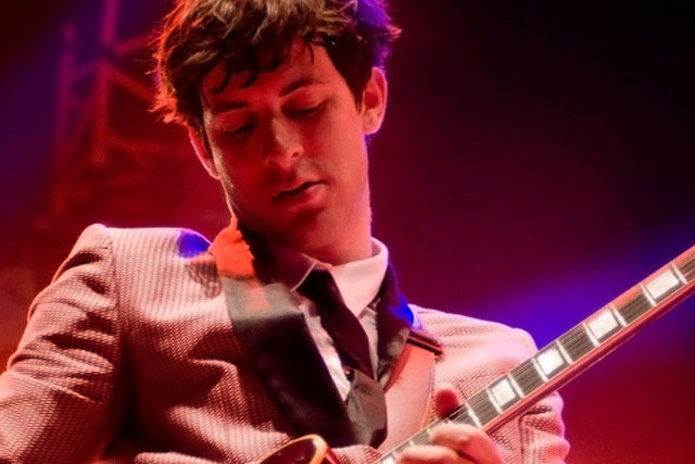 Mark Ronson: signs up to Coca-Cola's Olympic campaign (picture credit: Chris Hakkens)