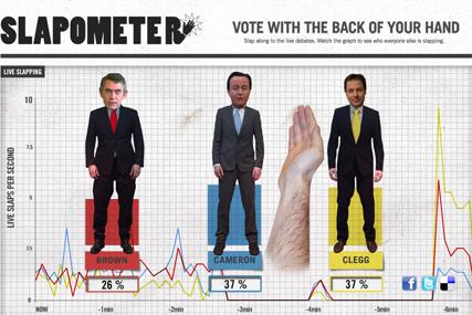 Slapometer: Albion site lets users slap politicians