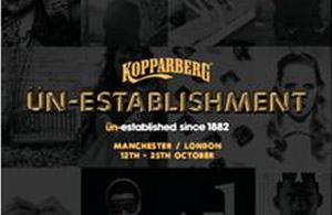 Kopparberg's ün-establishment pop up