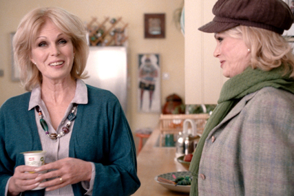 Joanna Lumley: spearheading latest Müller ad campaign