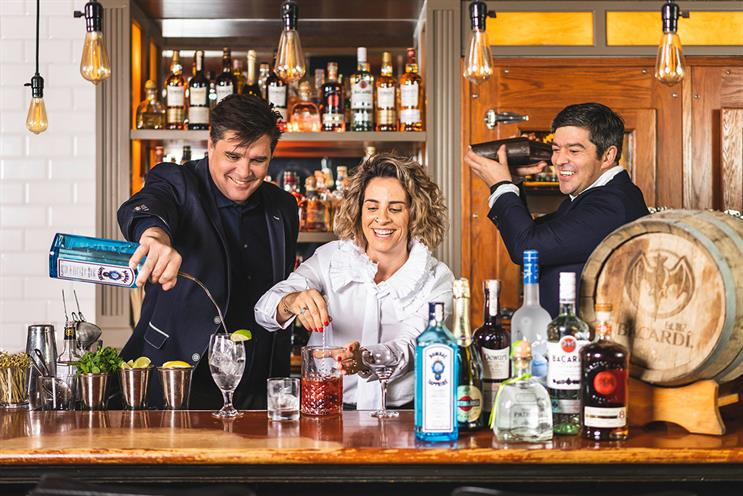 Bacardi: wants to drive footfall during challenging times