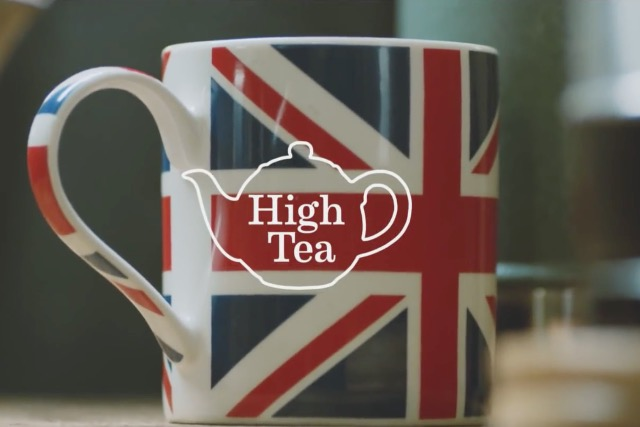 High Tea: one of the BA and Visit Britain video shorts to promote 'Britishness'