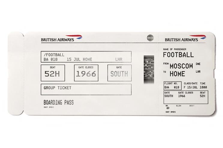 BA: Boarding pass