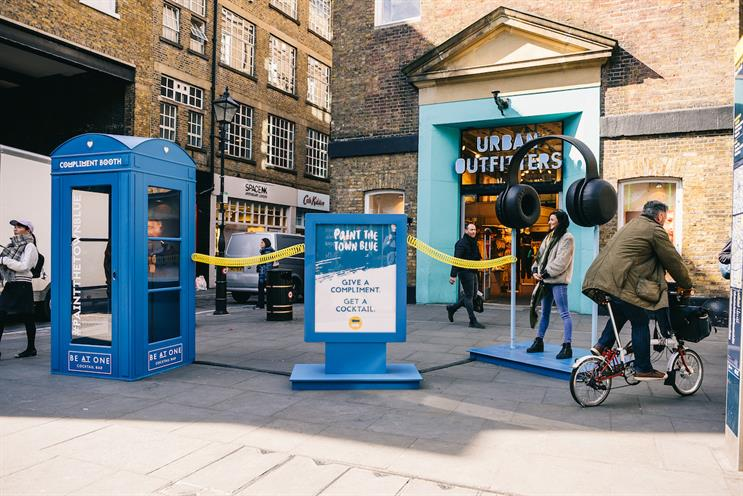 Be At One pop-up offers Bombay Sapphire cocktails for compliments