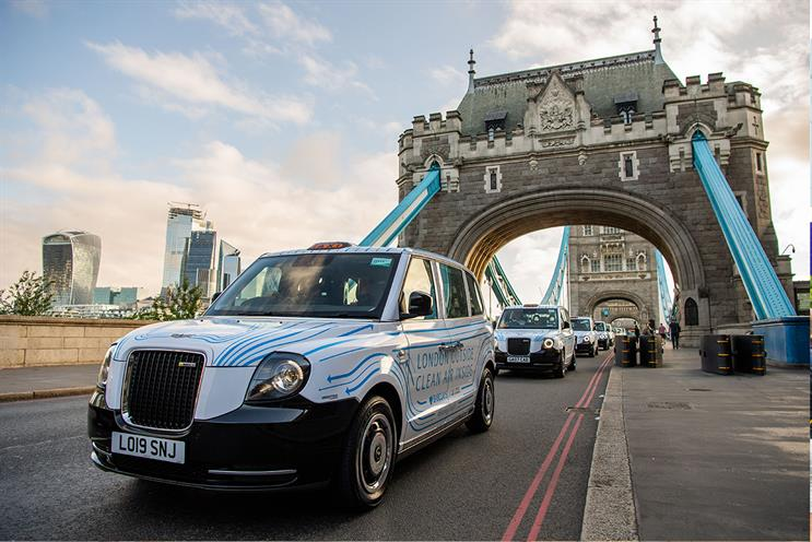 Barclays: clean-air technology in black cabs