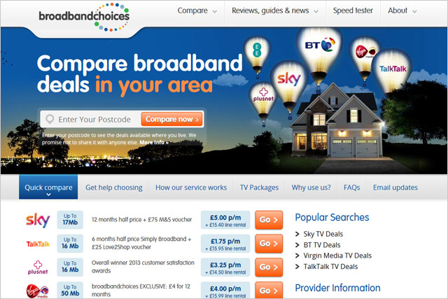 Broadband Choices: calls media review