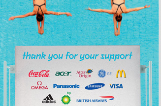 London 2012 thanks partners in 'three years until Olympics' ads