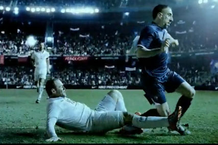 Usando una computadora popular perdí mi camino  Nike launches epic World Cup TV spot