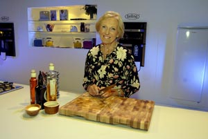 Mary Berry attended the inaugural BBC Good Food Show Spring event
