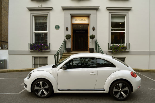 VW Beetle: new music show will be set in Abbey Road Studios