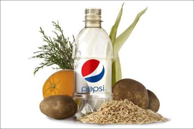 PepsiCo: creates plastic 'green' bottle