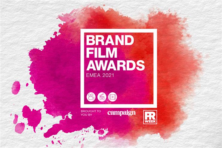 Brand Film Awards EMEA 2021: standard deadline for entries is 24 February