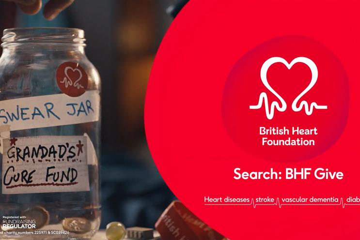 BHF: agency will support in the delivery of its fundraising and brand marketing strategies