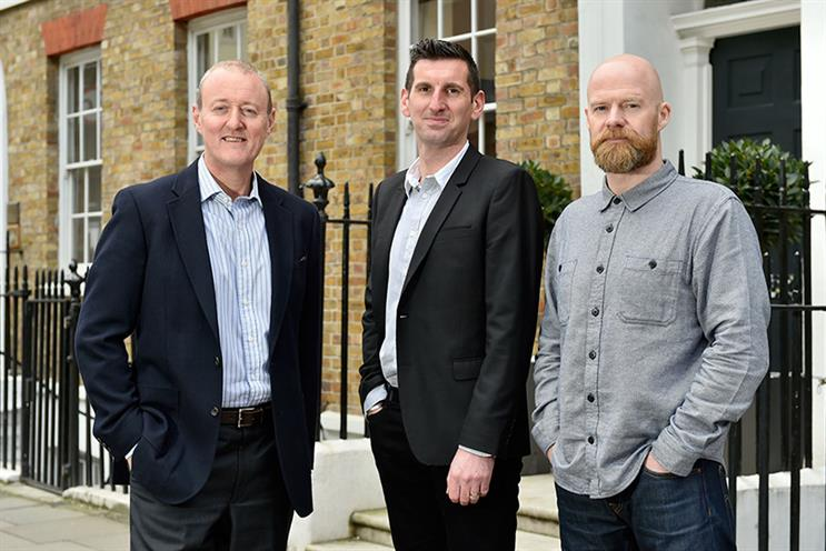 Bigdog: McCallum, Clifton and Bogg (l-r) will lead the new agency