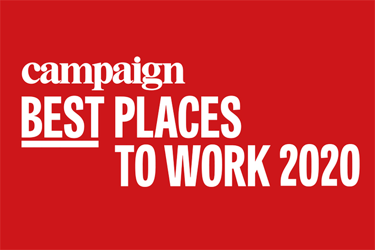 Best Places to Work: in partnership with Best Companies Group
