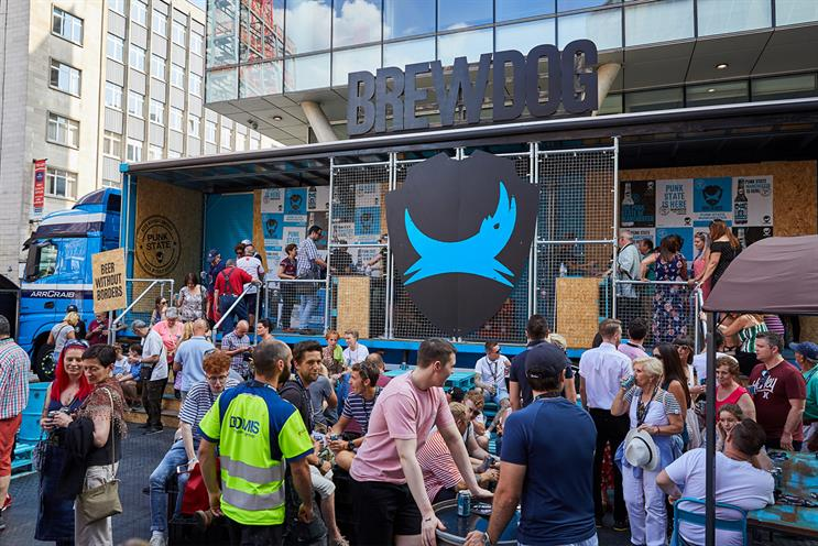 BrewDog: took 'Punk state' on tour last year