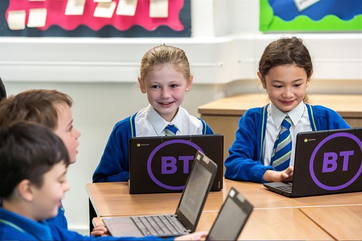 BT: encourages children to create avatars