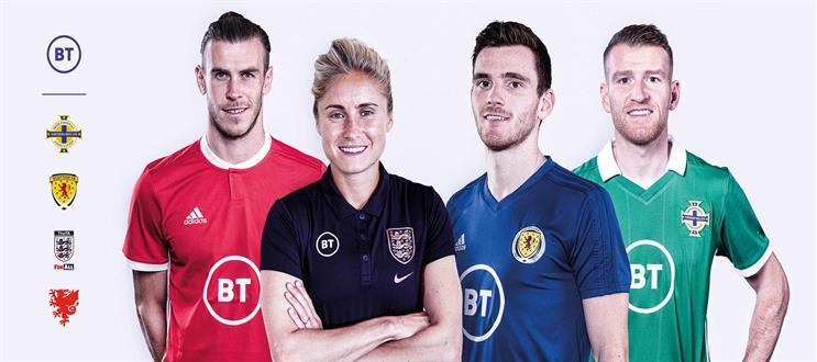 BT Sport: sponsoring FA, Scottish FA, Irish FA and FA of Wales