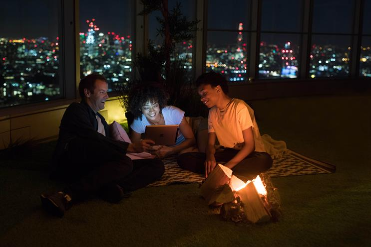 BT creates glamping experience at BT Tower