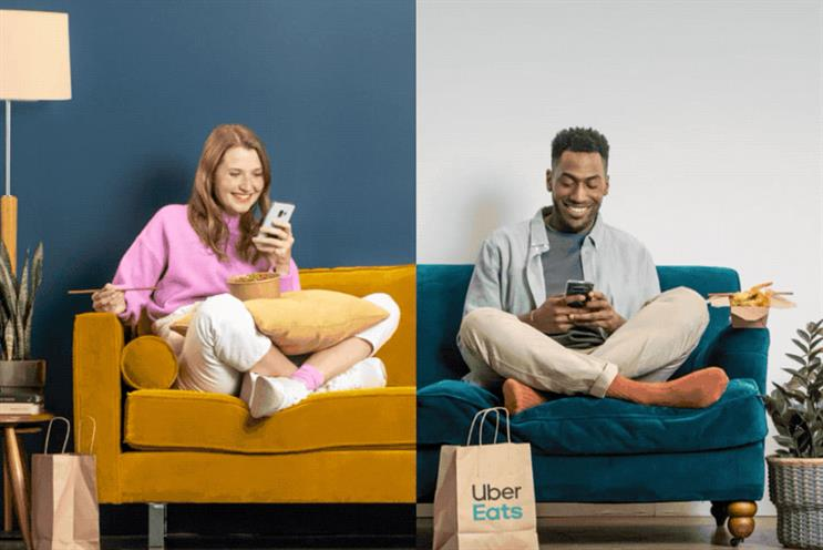 Bumble: discount for Uber Eats food ordered by daters