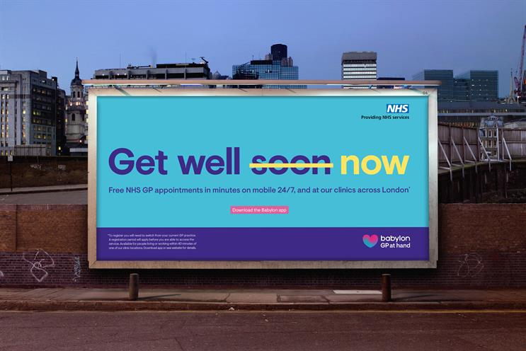 Healthcare app Babylon launches vibrant campaign after appointing Karmarama