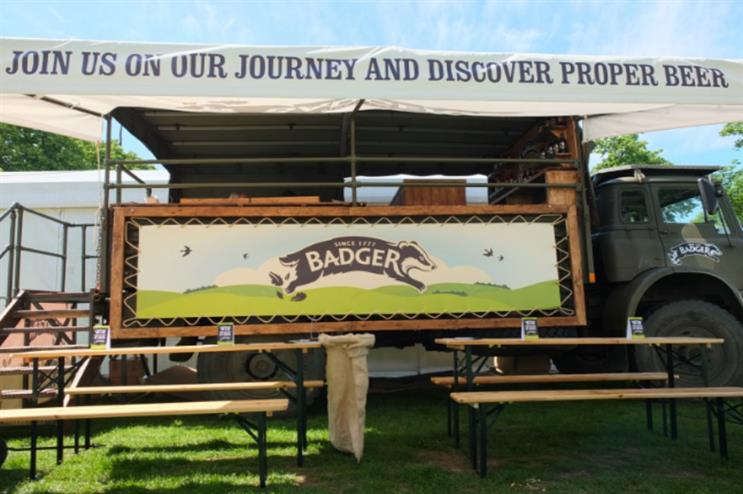 Badger Ales is the official sponsor of this year's CarFest North and South