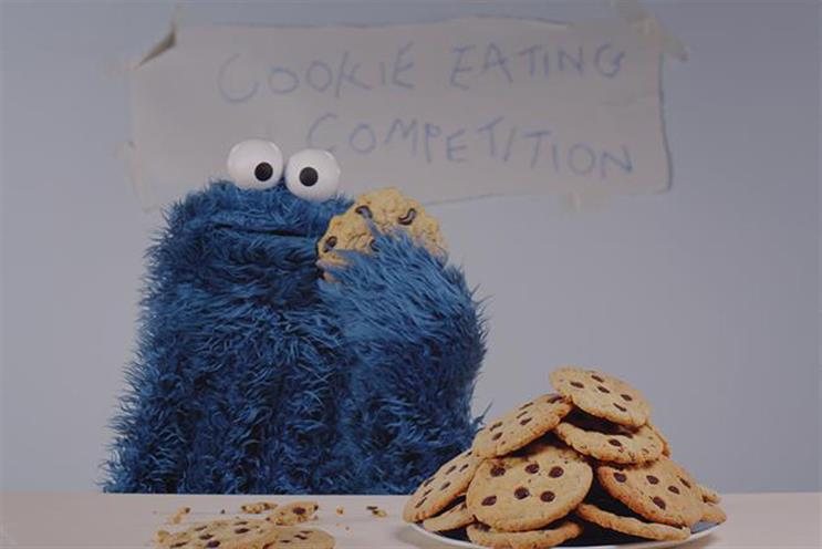 The Great British Bake Off: advertising cookies