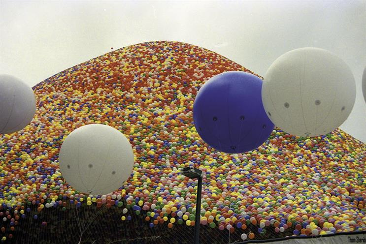 History of advertising: No 178: United Way's balloons