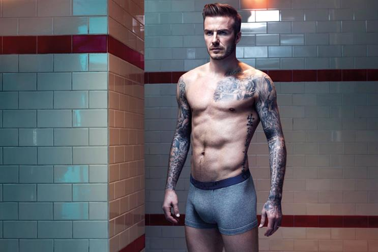 H&M: TV ads will promote Beckham clothing range
