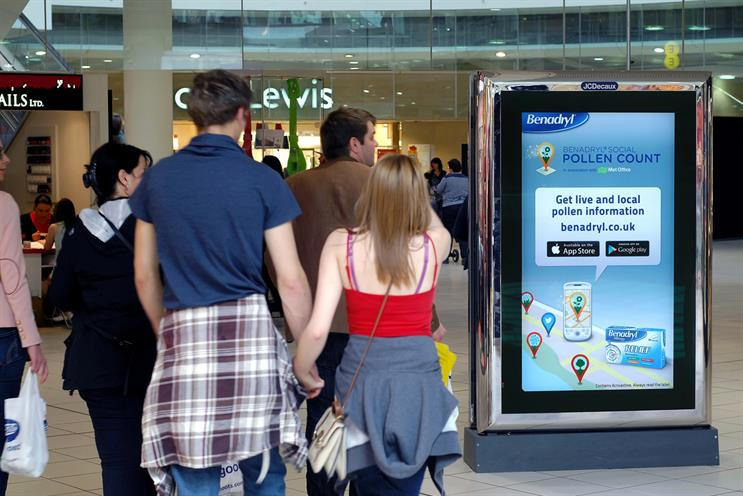 JCDecaux: soon to launch SmartScreens – digital screens backed by data – in 400 Tesco stores