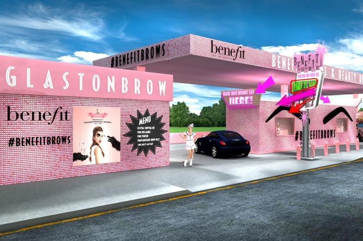 Benefit to launch brows and beauty drive-thru