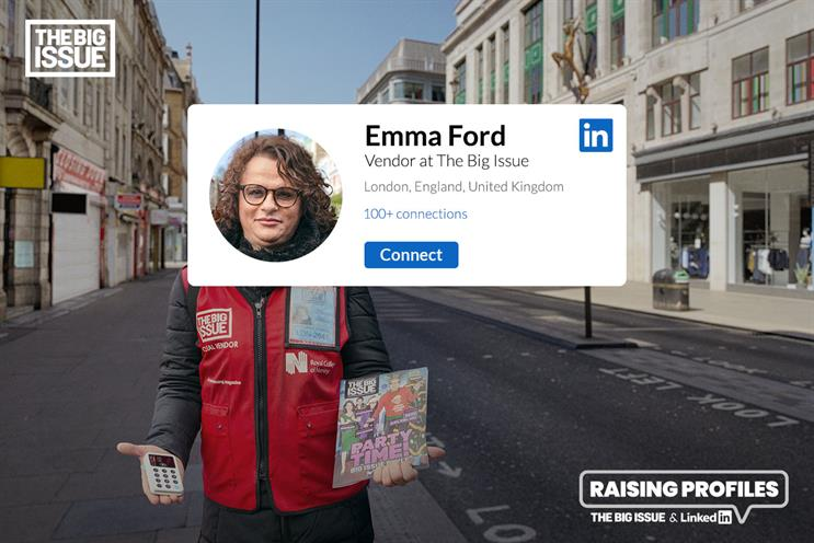 The Big Issue: campaign created by FCB Inferno
