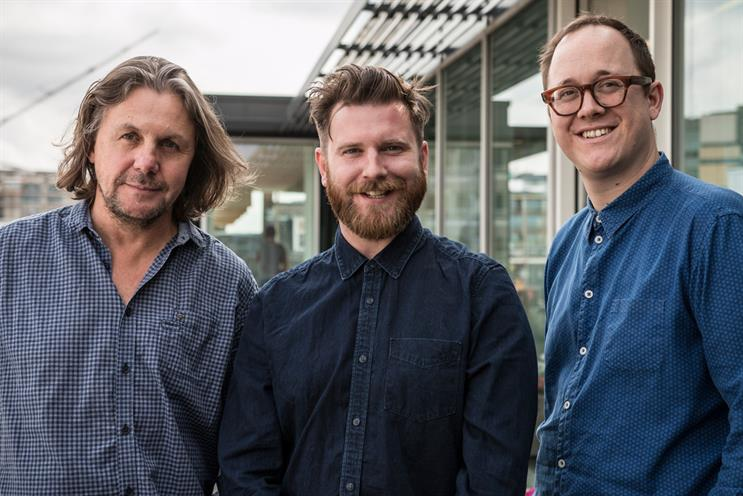 WCRS: Neil (centre) and Faithfull (right) take on executive creative director roles alongside Jaume