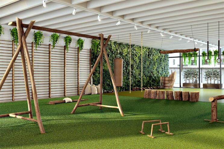 Biofit: organic gym concept