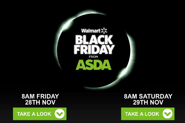 Black Friday: Walmart-owned Asda is extending the one-day event into the weekend