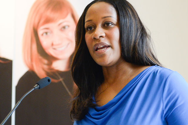 Karen Blackett: co-chair of the 2014 Women of Tomorrow Competition judging panel