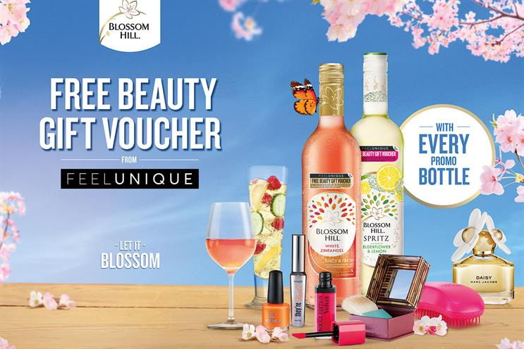 Blossom Hill: tie-up with Feelunique