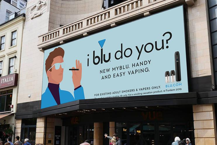 Blu: complainants argue ads encourage non-smokers to vape