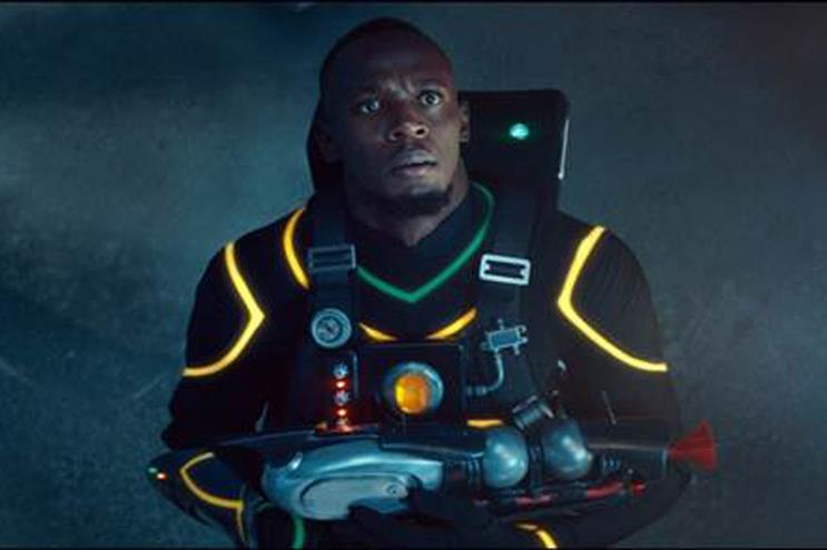 Virgin Media: Bolt acts as a superhero