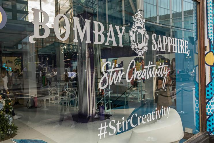Why Bombay Sapphire used artists to inspire creativity through gin