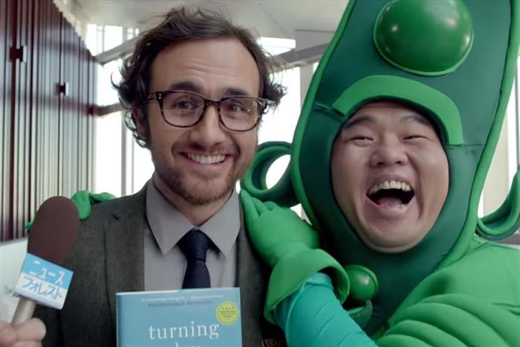 Booking.com: Wieden & Kennedy Amsterdam produced its 'booking hero' campaign