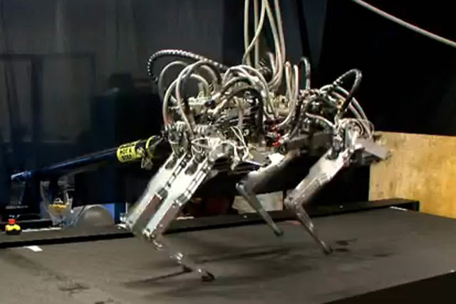 Cheetah Robot: created by Boston Dynamics