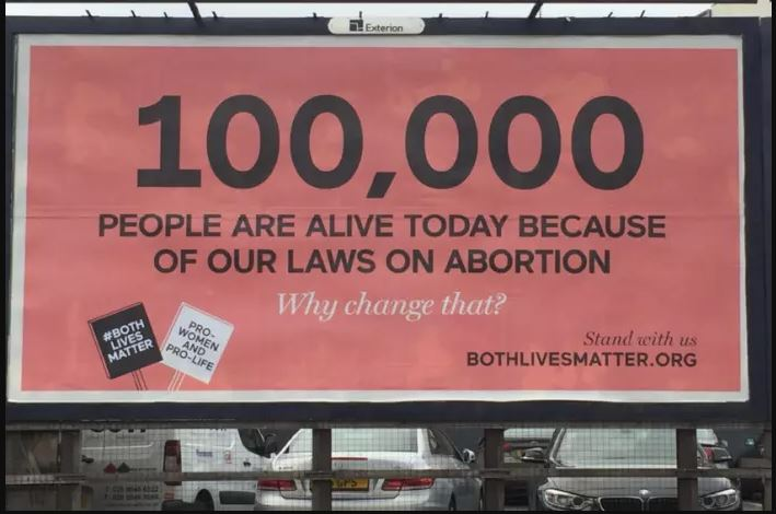 Northern Ireland anti-abortion ad escapes ban - but only just