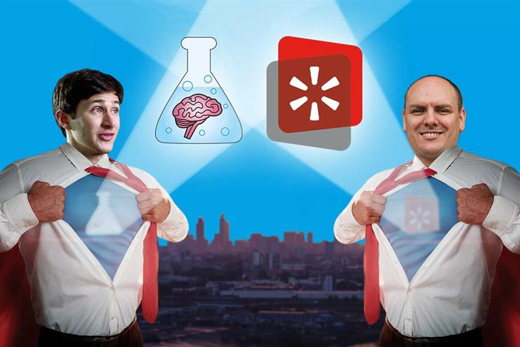 Brainlabs: Gilbert and Allen announced deal by portraying themselves as superheroes