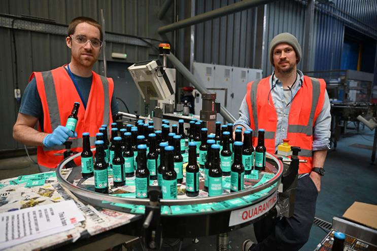 BrewDog founders Martin Dickie and James Watt: Watt has ordered an independent review into the company's culture. (Photo: Getty Images)