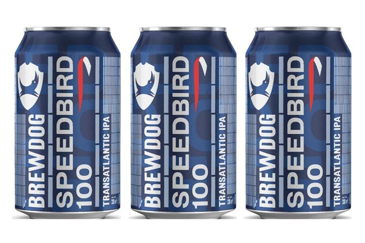 BrewDog: Speedbird 100 is created to preserve taste mid-flight