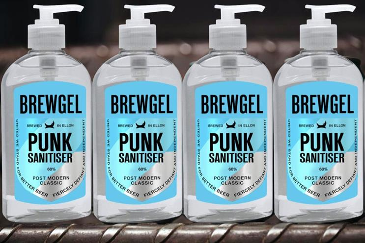 BrewDog: started making hand sanitiser amid shortages