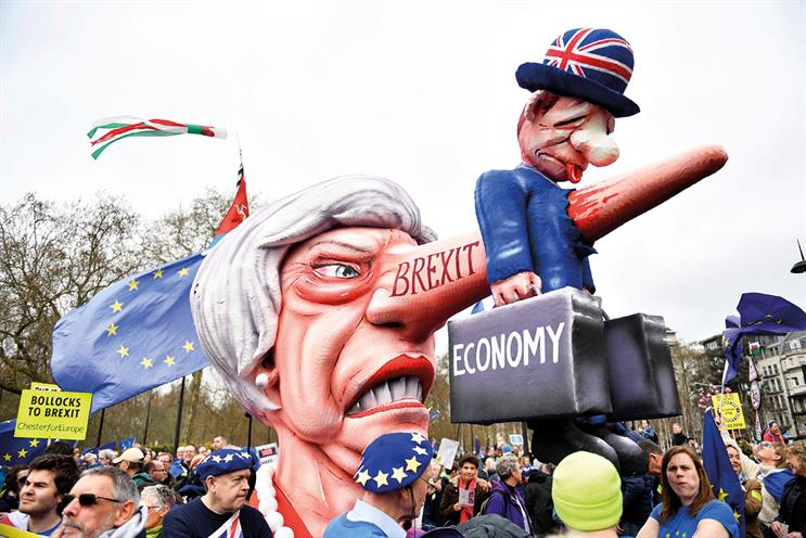 Brexit: political ineptitude continues to cast pall over marketing budgets