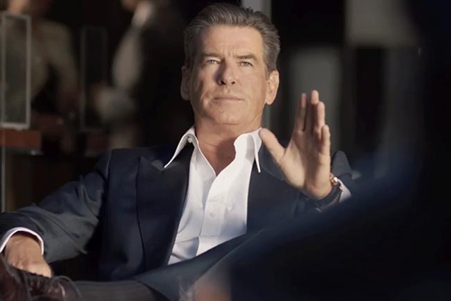 Pierce Brosnan: stars in 'the perfect getaway' for Kia Sorento