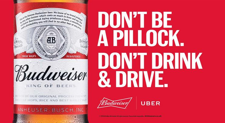 Budweiser offers Christmas Eve boozers a free Uber home